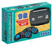 Игровая консоль Magistr Drive 2 Little черный (98 игр)