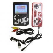Портативная игровая консоль Sup Game box 400 in 1 с джойстиком (Черная)
