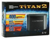 Игровая приставка SEGA Magistr Titan 2 black (400 встроенных игр) (SD до 32 ГБ)
