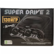 Игровая приставка 16 bit Super Drive 2 (130 встроенных игр)