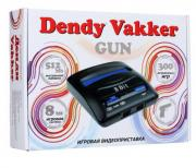 Игровая приставка Dendy Vakker (300 встроенных игр + световой пистолет)