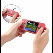 Портативная приставка Game Box + Plus K8 500 в 1 с джойстиком (Красная)