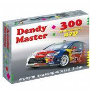 Игровая консоль Dendy Master черный + контроллер (300 встроенных игр)