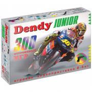 Игровая консоль Dendy Junior белый (300 встроенных игр + световой пистолет)