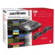 SEGA Retro Genesis Modern Wireless +170 игр +2 беспр. джостика 2,4ГГц ConSkDn78