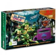 Sega Super Drive TMNT + 55 игр