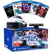 Шлем виртуальной реальности Sony PS4 PlayStation VR Mega Pack 2 с PlayStation Camera и 5 играми (CUH-ZVR2) PS719998600