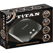 Игровая приставка SEGA Magistr Titan 3 black (500 встроенных игр) (SD до 32 ГБ)