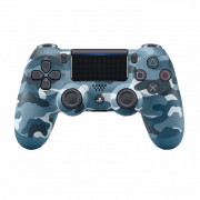 Dualshock 4 Wireless Controller Camouflage Blue