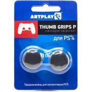 Накладка защитная на джойстики геймпада Artplays Thumb Grips (2 шт) для PS4 Черный
