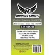 Протекторы Mayday Games Custom Sleeves, для WOTR 70 x 120 мм (100 шт)