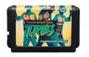 Игровой картридж для приставки 16 bit Turtles Hyperst Heist (рус)