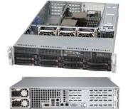 "Корпус серверный 2U Supermicro CSE-825TQ-R500WB (8x3.5"" HS Bays, 8xSATA/SAS, 2x3.5"" Int, DVD-opt., Propr. 13.68""x16.5"", 4xFF, 3xLP, 2x500W, rail)"