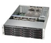 "Корпус серверный 3U Supermicro CSE-836BE16-R920B (16x3.5""+2x2.5""(rear) HS, 3x2.5"" slim fixed, SAS 6G Exp., DVD-opt, 13.68x13"", 7xFF, 2x920W Platinum)"