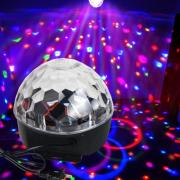 Диско шар Magic Ball Light MP3 с флешкой и Bluetooth