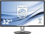 "Монитор Philips BDM3270QP/00(01) 32"" Black 2560x1440/TFT VA/4ms/VGA (D-Sub), DVI, DP, HDMI, 3Wx2, Headph.Out, VESA"