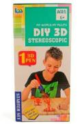 3D ручка LeiMengToys Stereoscopic красная - LM333-3E