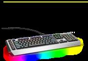 Клавиатура Dell Alienware PRO AW768 механическая черный USB (580-AGKW)