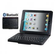искусственная кожа флип чехол со встроенной клавиатурой Bluetooth для Ipad 2/3/4 (разных цветов)