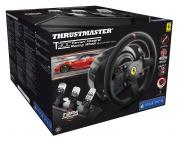Руль Thrustmaster T300 Ferrari Integral Racing Wheel Alcantara Edition , PS4/PS3/PC