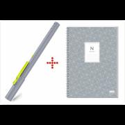 Умная ручка Neo SmartPen M1 + блокнот для быстрых заметок N idea pad (серая) NeoLab Neo SmartPen M1 серая
