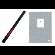 Умная ручка Neo SmartPen M1 + блокнот для быстрых заметок N idea pad (чёрная) NeoLab Neo SmartPen M1 чёрная