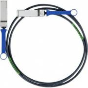 Кабель Mellanox MC2207130-001 Mellanox® passive copper cable, VPI, up to 56Gb/s, QSFP, 1m