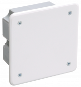 Коробка распределительная IEK 92х92х45 скрытая IP20 КМ41001
