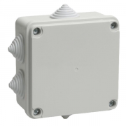 Коробка распределительная IEK 100х100х50 наружная IP44 КМ41233