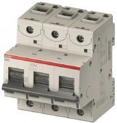 Автоматический выключатель ABB S803N 3 модуль C класс 3P 125А 36кА (2CCS893001R0844)