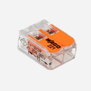 Клемма соединительная WAGO 221-412 (Упаковка 100 шт.)