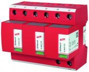 Модульное комбинированное УЗИП для систем TN-C DEHNventil M TNC, тип 1+2