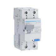Дифференциальный автоматический выключатель Hager 1P+N 4.5kA C-16A 30mA