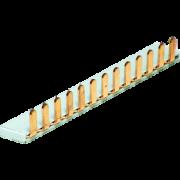 Шина медная соединительная (шаг 9мм) ШМС-25pin