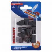 Соединительная клемма с пастой, 4-х проводная до 2,5 мм?, (10шт.) Rexant, REXANT, 06-0207-B10
