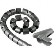 Кабельный органайзер Hama H-20600 (00020600) 2.5m silver