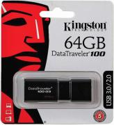 USB флешка 64GB Kingston DataTraveler 100 USB 3.1 (DT100G3/64GB)