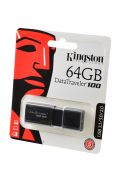 USB Flash KINGSTON USB 3.1/3.0/2.0 64GB DataTraveler 100 G3 черный BL1