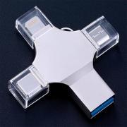 Многофункциональный USB Flash-накопитель 4-В-1 64Гб