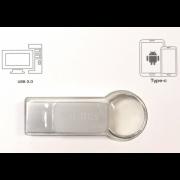 Флеш-накопитель USB Eplutus U-323 16GB 3.0 (Серебристый)