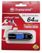 USB флешка 64Gb Transcend JetFlash 790W USB 3.1(TS64GJF790K)