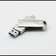 Флеш-накопитель USB Eplutus U-322 16GB 3.0 (Серебристый)
