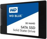 Накопитель SSD 2.5'' Western Digital WDS500G2B0A WD BLUE PC 500GB TLC SATA 6Gb/s 530/560Mb 80000 IOPS