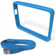 Кейс для портативного USB диска/внеш.HDD WD GRIP PACK SKY (WDBZBY0000NBL-EASN)