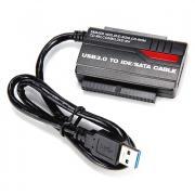 Адаптер USB3.0 IDE+SATA KS-462 USB Am для 2.5 SSD-HDD + внешний блок питания и кабели