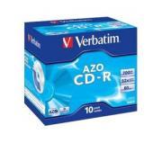 CD-R Verbatim Crystal Azo 10шт Jewel
