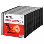 Диск Mirex CD-R 700Mb HOTLINE 48X slim, упаковка 50 шт.