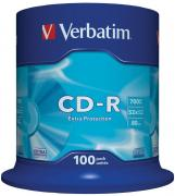 Диск CD-R Verbatim 700Mb 52x DataLife Cake Box (100шт) (43411)