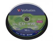 Диск CD-RW Verbatim 43480