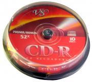 VS CD-R 700Mb 52x 10 шт